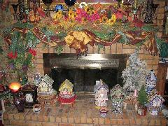 Fireplace and Tiled Birdhouses.jpg