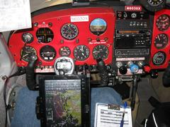 N6030X Current Instrument Panel Left at Night.JPG